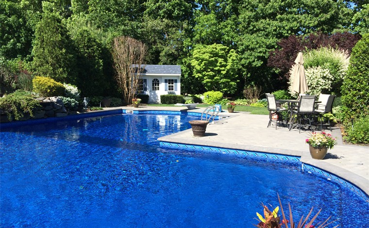 Long Island Landscape Designs Offers Pool Landscape Design ...