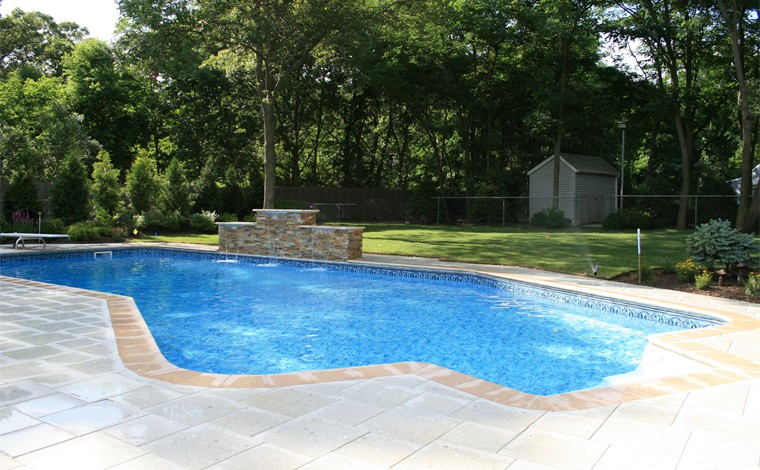 long island landscape designs offers pool landscape design services - Swimming Pool And Landscape Designs